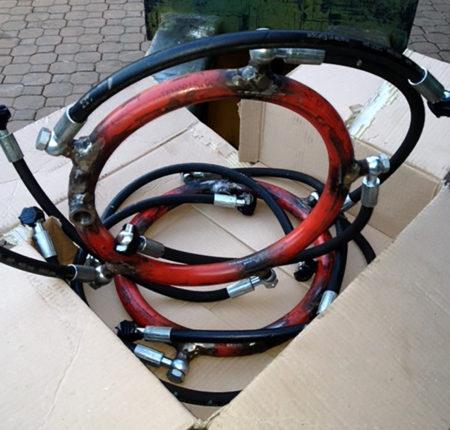 Anelli distributore per polipo completi di tubi