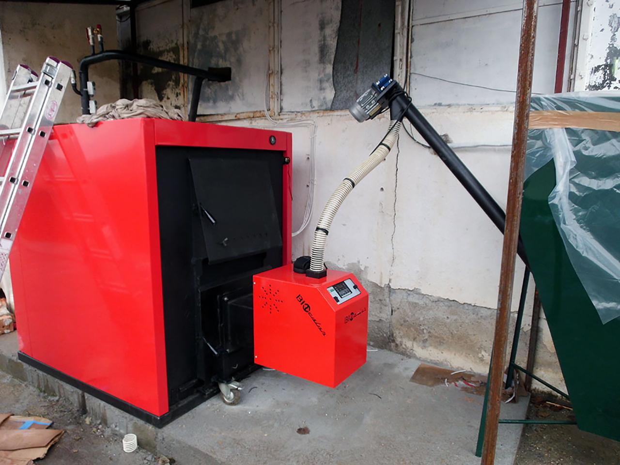 bruciatore a pellet viteconica manutenzioni meccaniche