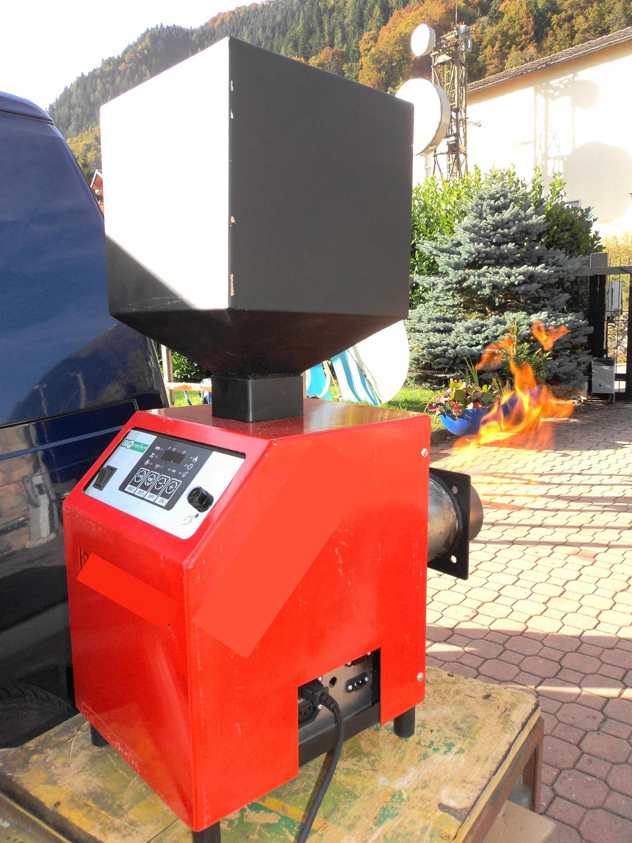 Bruciatore a pellet biocalor viteconica manutenzioni for Bruciatore a sansa usato