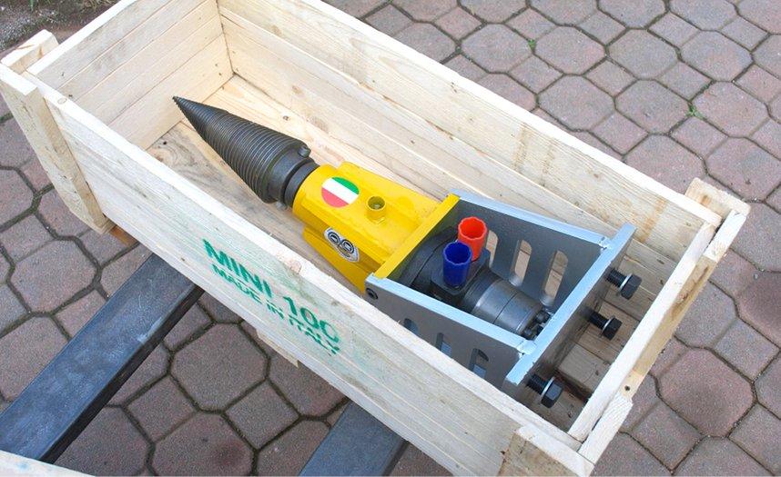 Kit spaccalegna idraulici, per braccio escavatore o altri mezzi.