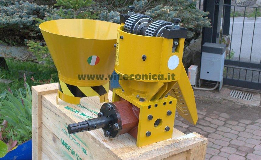 Pellettatrice Made in Italy, produzione 120/150 Kg/h.