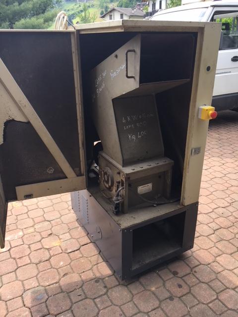 Mulino usato raffinatore