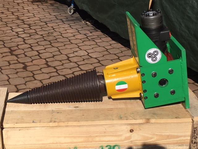 Kit spaccalegna idraulici per braccio escavatore
